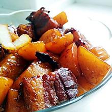 就是爱吃肉——红烧肉炖土豆