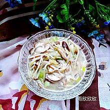 香菇银鱼汤
