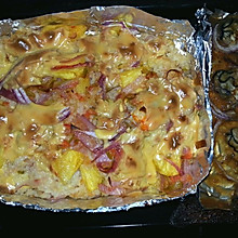 海鲜菠萝焗饭