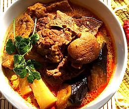 砂锅咖喱羊腿煲的做法