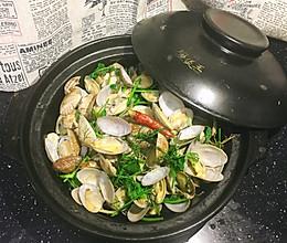 砂锅花蛤的做法