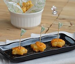 #美国冷冻马铃薯# 车打干酪焗星星薯的做法