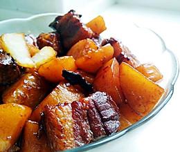 就是爱吃肉——红烧肉炖土豆的做法