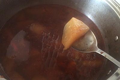 白萝卜牛肉香肠辣汤