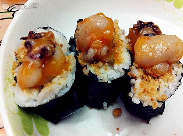 章鱼肉松寿司的做法