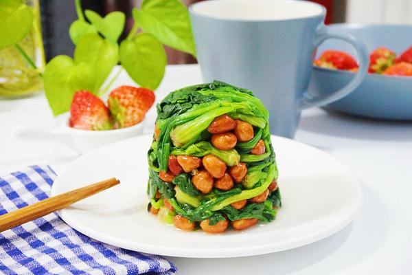 「迟の味」果仁菠菜的做法