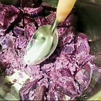 奶香紫薯餅的做法圖解1