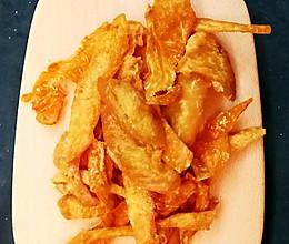 小汪食堂:宠物零食-鸡胸肉脆脆的做法