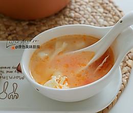 西红柿年糕汤的做法