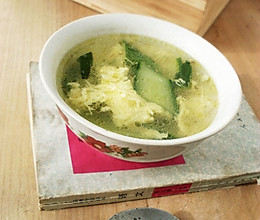 黄瓜蛋花汤的做法