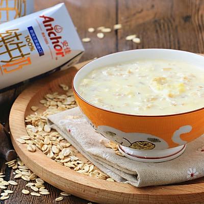 燕麦牛奶鸡蛋粥
