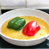 饱满多汁的青椒盅的做法图解8