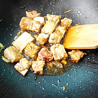 香芋排骨焖饭的做法图解7