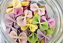 果蔬蝴蝶面-宝宝辅食的做法