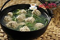 青菜豆腐丸子汤的做法