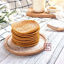 健康粗粮小点心:蜂蜜玉米面饼#初夏搜食#