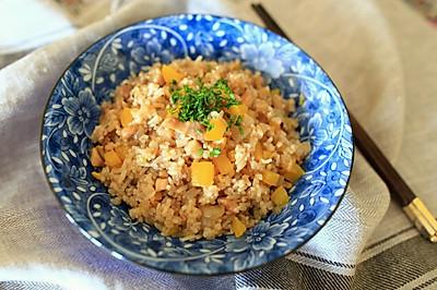 蚝油鸡粒炒饭