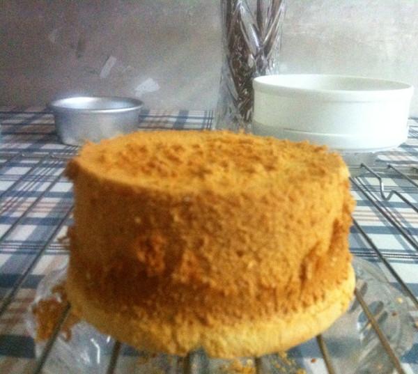 4寸戚风蛋糕