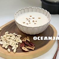 清甜花生红枣米浆,你绝对会回味的做法图解3