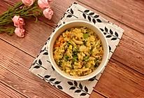 浓汁蔬菜海鲜烩饭的做法