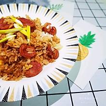 电饭煲版~广式腊肠闷饭