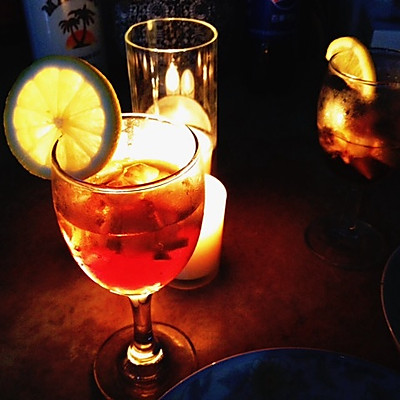 鸡尾酒自由古巴Cuba libre