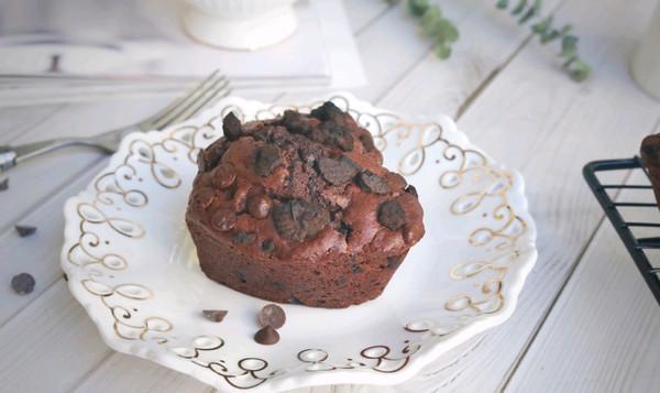 奥利奥巧克力豆麦芬的做法
