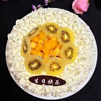 水果奶油蛋糕#豆果5周年#的做法图解12