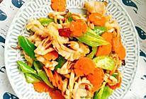 青椒炒目鱼的做法
