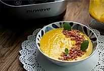 培根牛奶南瓜浓汤的做法