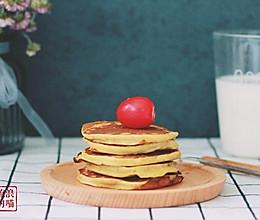 香蕉牛奶松饼—早餐系列的做法