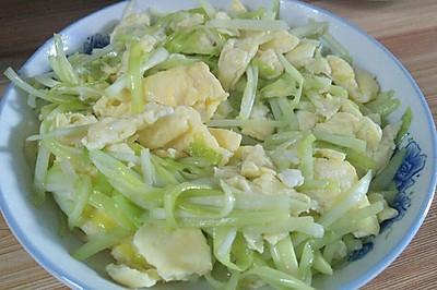 家常菜之韭黄炒蛋