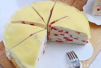 草莓,芒果千层蛋糕的做法