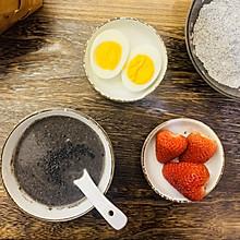 自制黑芝麻糊粉:营养早餐➕办公室能量补充#换着花样吃早餐#