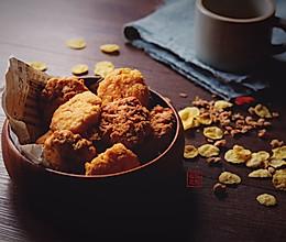 玉米片黄油曲奇&燕麦黄油曲奇的做法