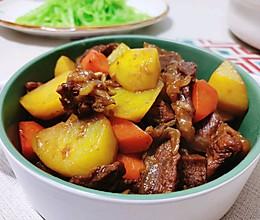#牛气冲天#土豆烧牛肉的做法