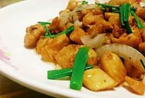 洋葱炒鸡丁的做法