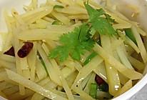 酸辣脆爽—青椒炒土豆丝的做法