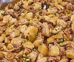 黄焖三黄鸡的做法