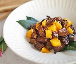 咸甜相伴30年,越难越爱的爽嫩芒果牛肉粒的做法