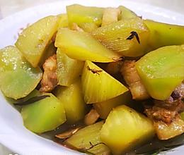 莴苣烧肉的做法