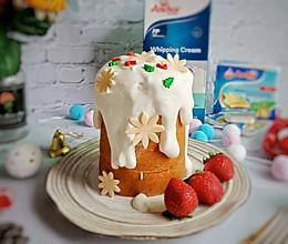 芝士奶盖蛋糕#令人羡慕的圣诞大餐#的做法