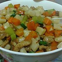 老北京小吃—炒疙瘩的做法图解5