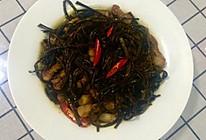 小炒蕨菜的做法