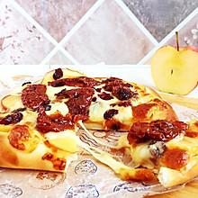#好吃不上火#番茄苹果披萨
