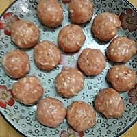 团团圆圆糯米肉丸的做法图解8