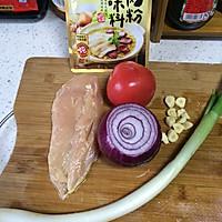 大喜大牛肉粉试用之【鸡肉烩饭】的做法图解1