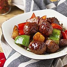 土豆燒牛丸