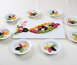 五色海胆饺#金龙鱼专业饺子粉#的做法