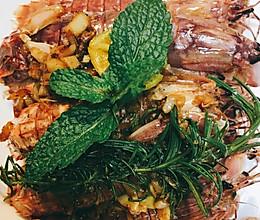 美式重口皮皮虾/虾菇的做法